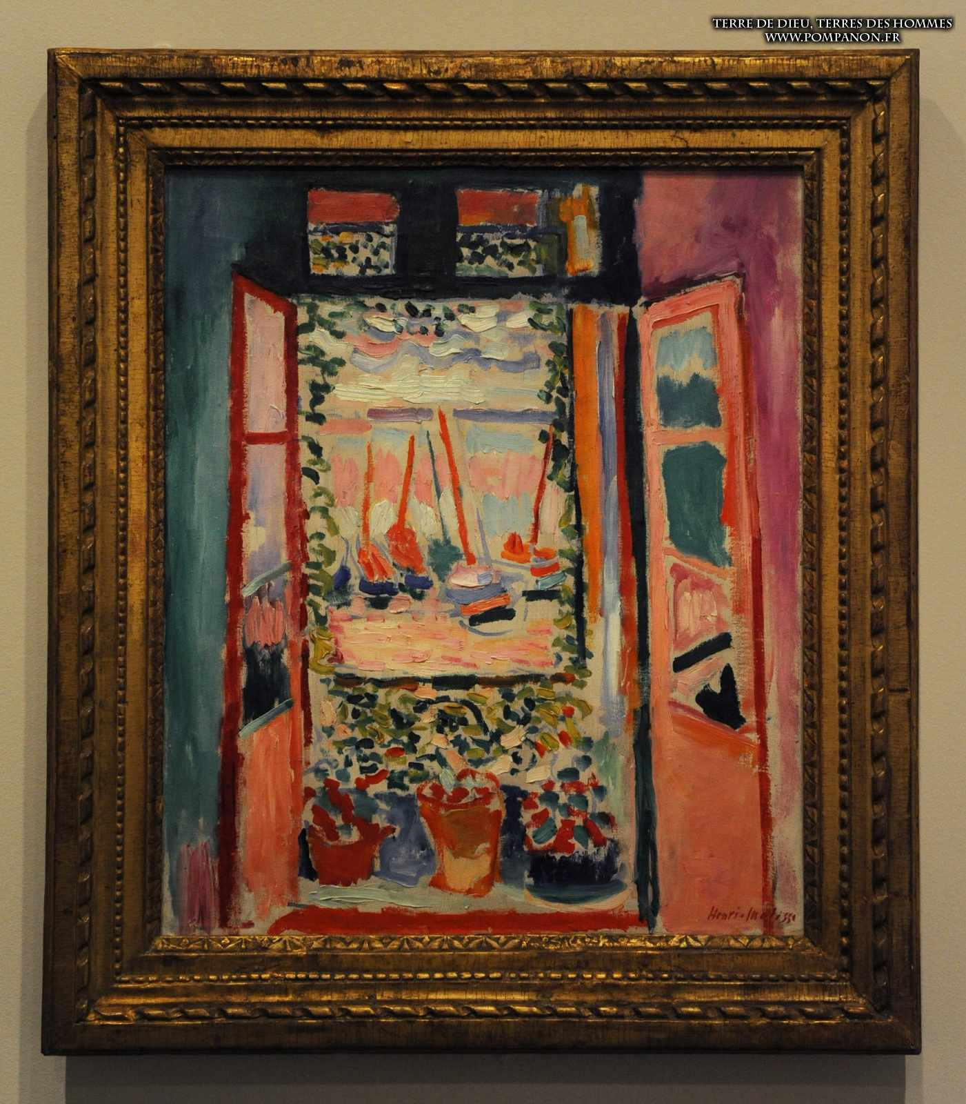 National gallery of art for Matisse fenetre ouverte collioure